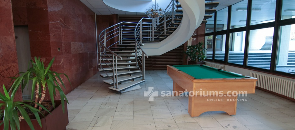 "Spa Hotel Morava - billiard at the building of the spa hotel ""Central"" for a fee"
