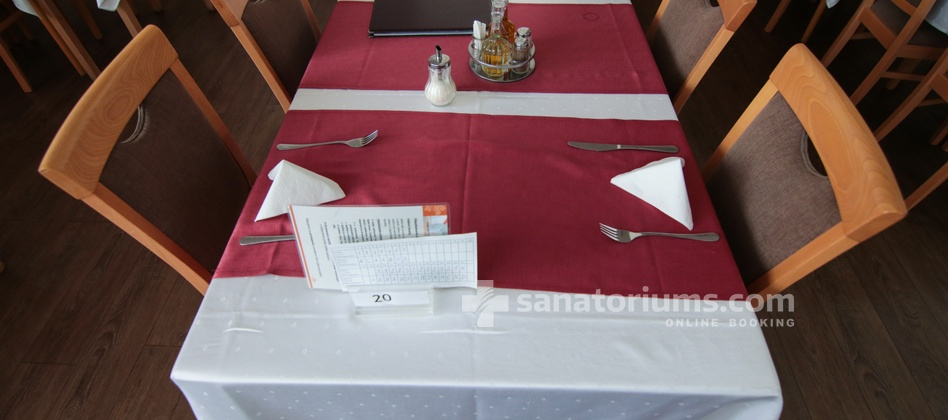 Spa Hotel Central - restaurant is located in the building of the spa hotel Vietoris
