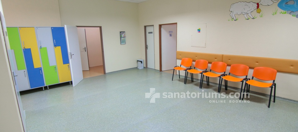 "Spa Hotel Central - interior of the children's medical department ""Eva"""