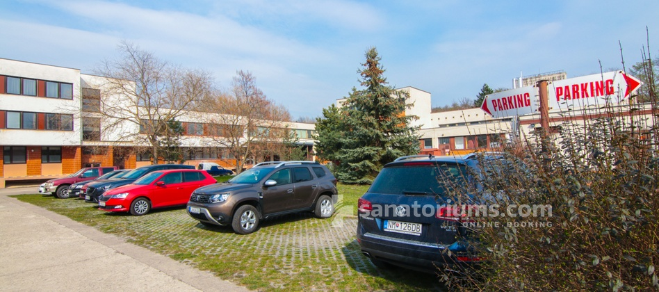 Spa Hotel Central - parking for 80 places