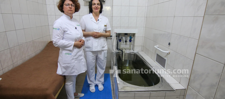 Spa Hotel Central - sanatoriums.com balneologist discusses the specifics of conducting hydrogen sulfide baths