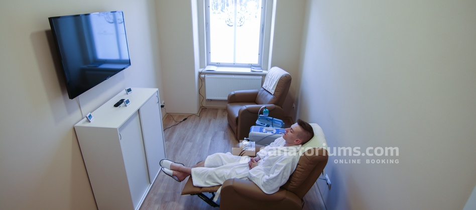 "Spa Hotel Jesenius - oxygen therapy in the medical department of the spa hotel ""Luisa"""