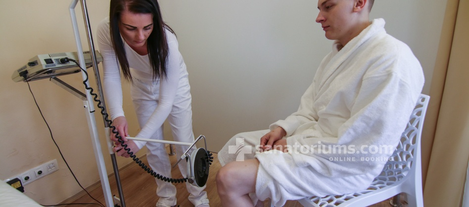 "Spa Hotel Jesenius - remote electrotherapy in the medical department of the spa hotel ""Luisa"""