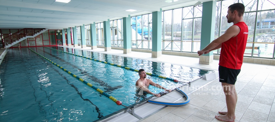 Spa Hotel Jesenius - physiotherapy in the pool at the Aquaforum water center
