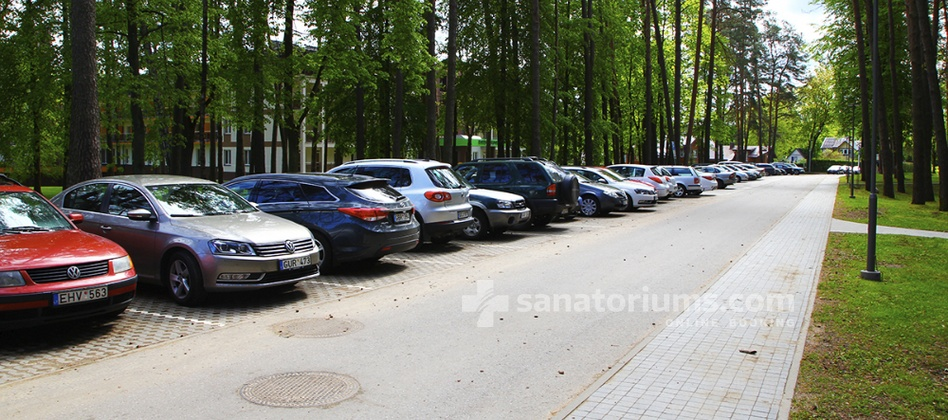 Spa Hotel Egle Comfort - free parking in front of the spa hotel