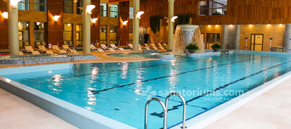 Spa Hotel Egle Comfort - mineral swimming pool with hydromassage