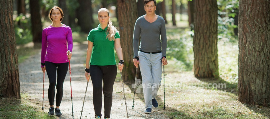 Spa Hotel Egle Comfort - nordic walking