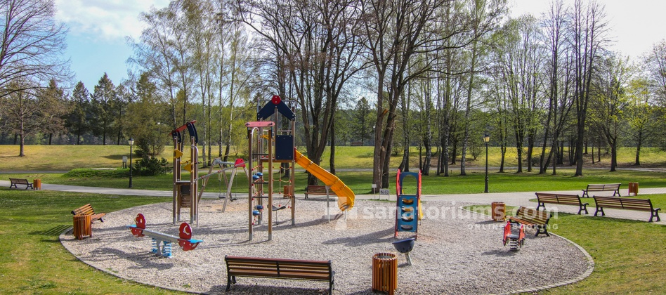 Spa Hotel Egle Comfort - outdoor playground for children