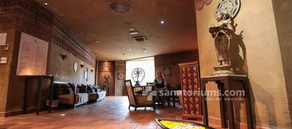 Hotel Slovenija - interior of the Shakti ayurveda center at the medical centre Terme & Wellness Palace
