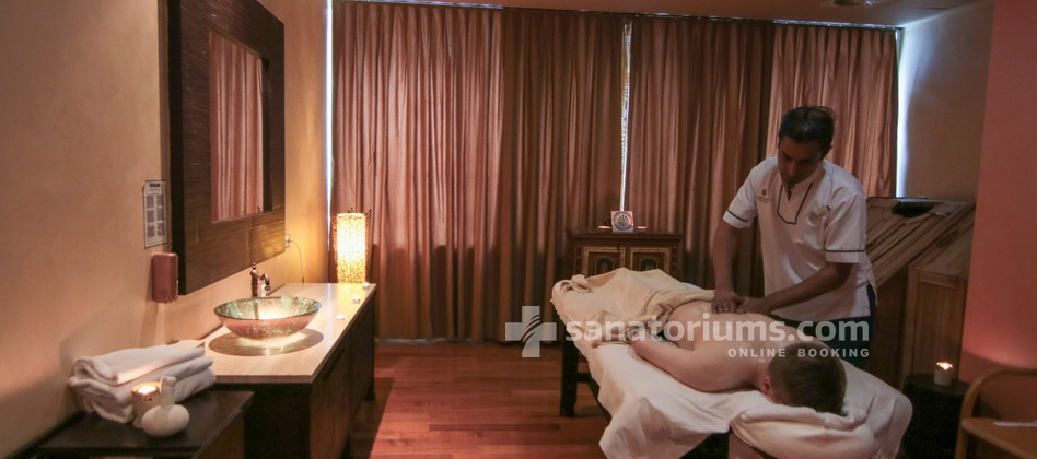 Hotel Slovenija - ayurvedic massage at the Shakti centre at the medical centre Terme & Wellness Palace