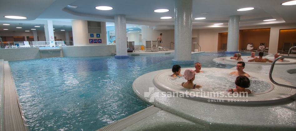 Hotel Slovenija - children's pool with thermal mineral water at Terme & Wellness Palace