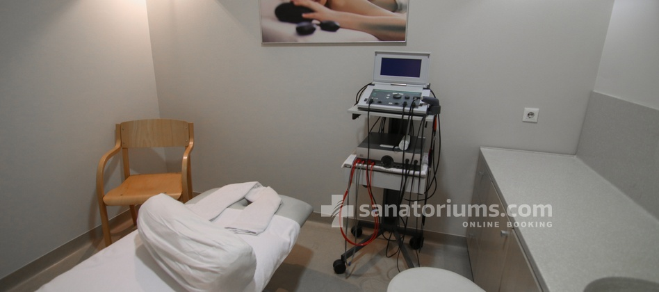 Hotel Slovenija - equipment for interference, ultrasonic and diadynamic therapies in Terme & Wellness Palace