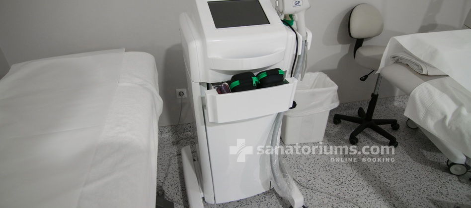 Hotel Slovenija - laser depilation equipment at the medical center Terme & Wellness Palace