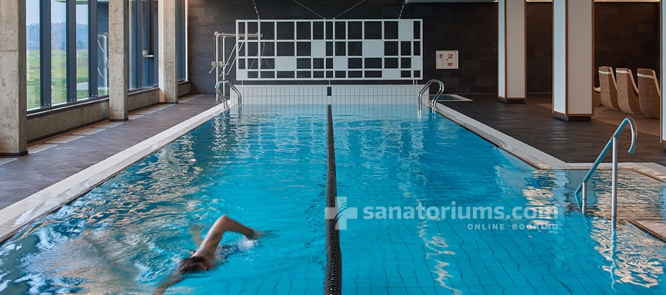 Spa Hotel Vytautas Mineral SPA - mineral water swimming pool size 20x6 meters