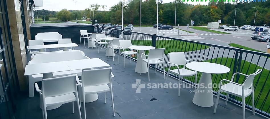 Spa Hotel Vytautas Mineral SPA - summer terrace of the restaurant