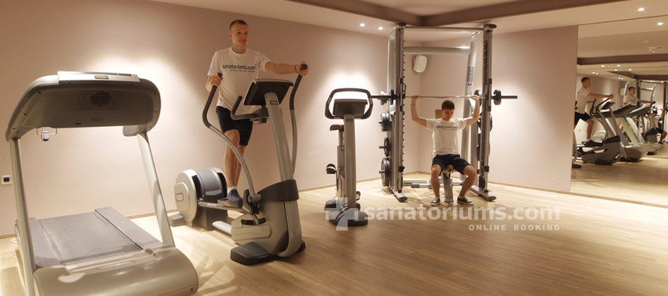 "Boutique Hotel Atlantida - gym in the boutique hotel ""Atlantida"""