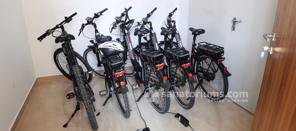 "Boutique Hotel Atlantida - bicycles for rent at the boutique hotel ""Atlantida"""