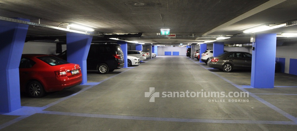 "Boutique Hotel Atlantida - parking in the boutique hotel ""Atlantida"""