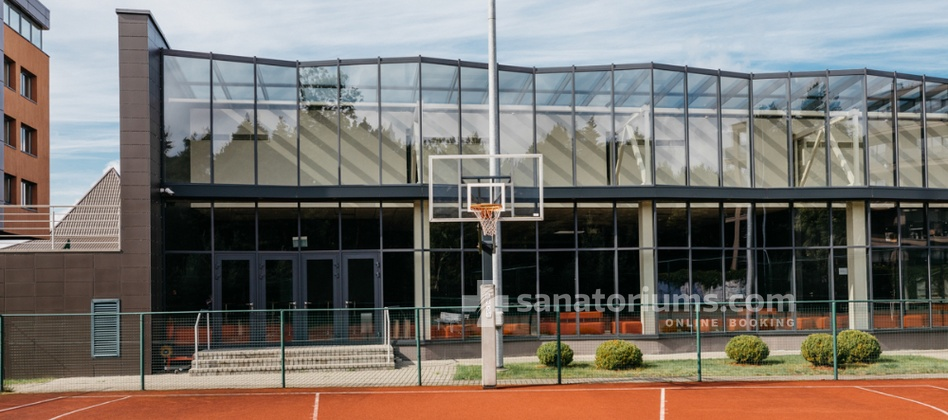 Spa Hotel Vanagupe - basketball court