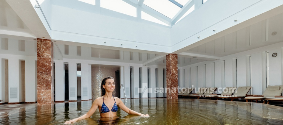 Spa Hotel Vanagupe - water procedures at the spa centre