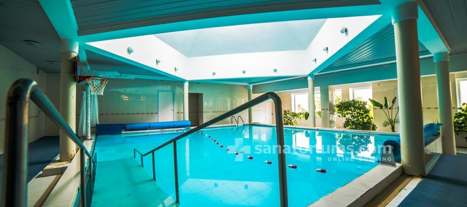 Health and Wellness center Energetikas - swimming pool with hydromassage jets