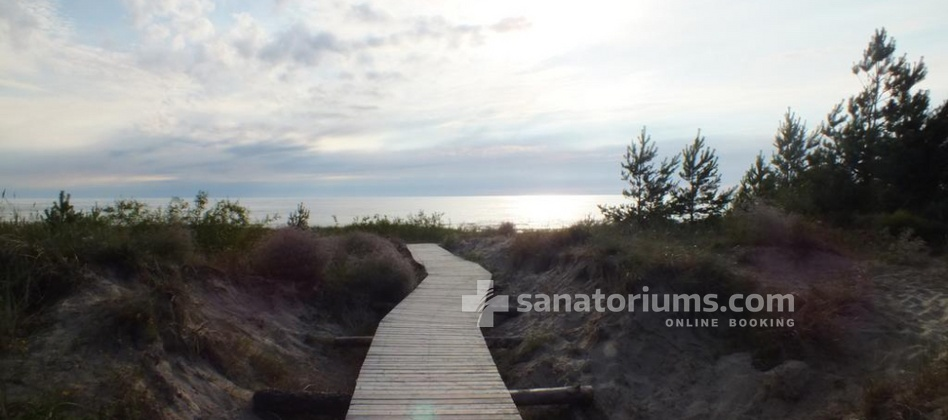 Health and Wellness center Energetikas - path to the sea
