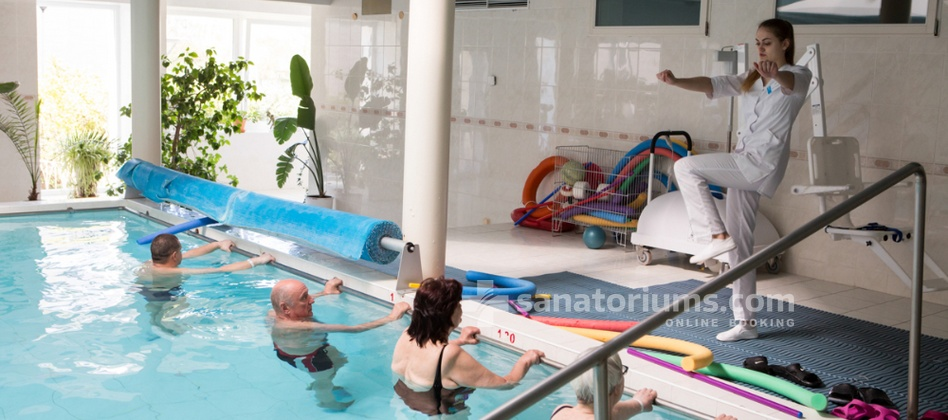 Health and Wellness center Energetikas - swimming pool gymnastics
