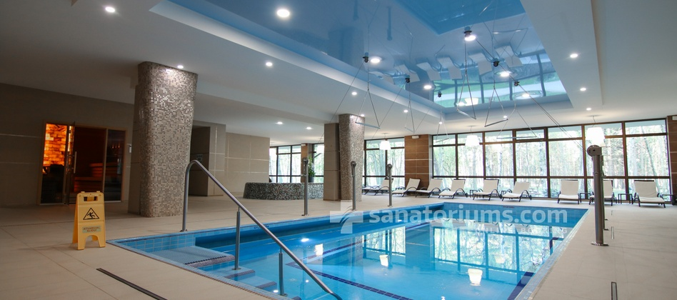 Spa Hotel Gradiali - mineralized swimming pool