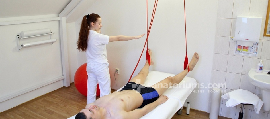 "Spa-Hotel Jalta - Individual physiotherapy in the balneological center ""Napoleon"""