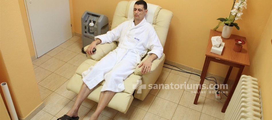 "Spa-Hotel Jalta - oxygen therapy in the balneological center ""Napoleon"""