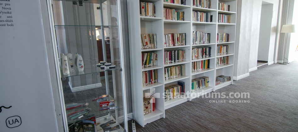 Hotel Granit - library