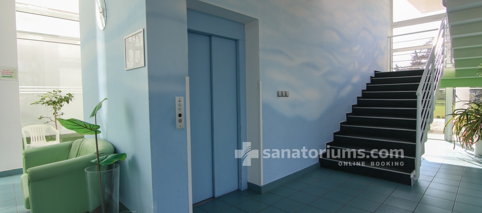 Hotel Granit - elevator in the medical department