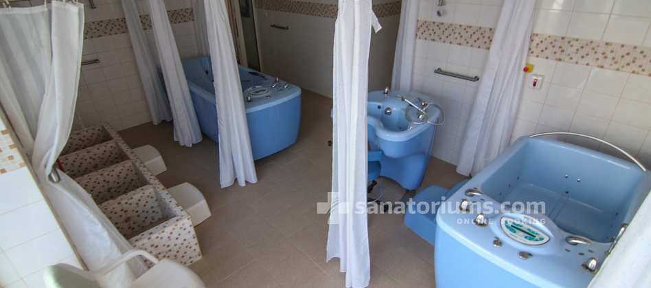 Hotel Granit - water treatment room