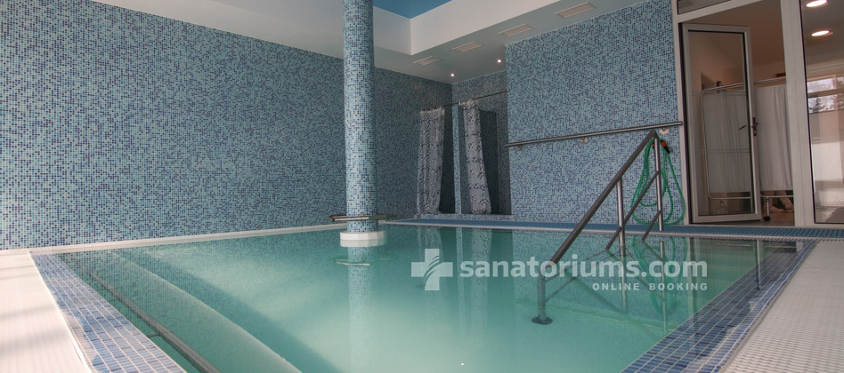 Hotel Granit - thermal pool with hydromassage jets