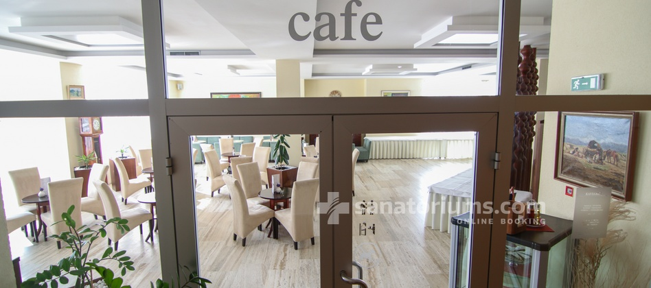 Hotel Park - entrance to the cafe