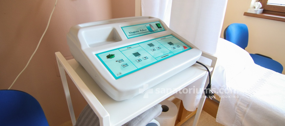 Hotel Park - magnetotherapy cabinet