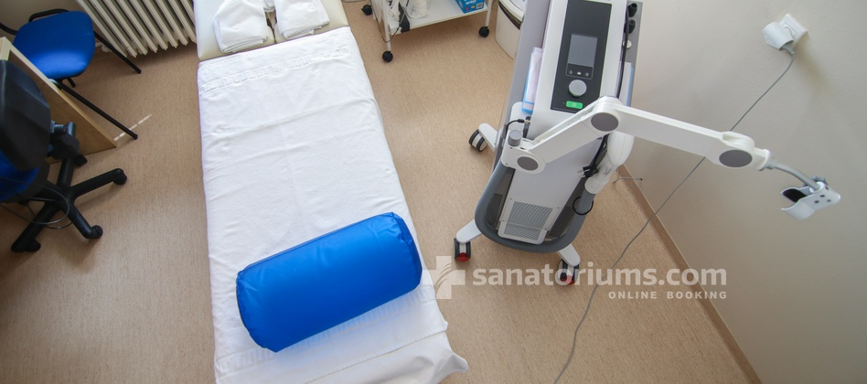 Hotel Park - electrotherapy cabinet