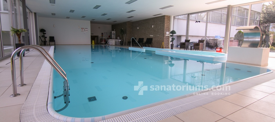 Hotel Park - indoor pool with hydromassage jets