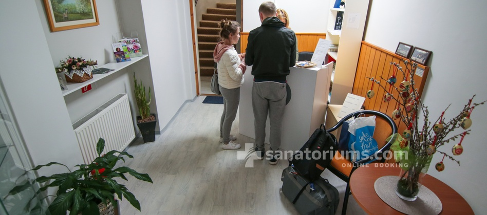 Отель Astoria Pension - рецепция