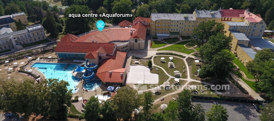 Санаторий Pawlik-Aquaforum - водный центр «Aquaforum»