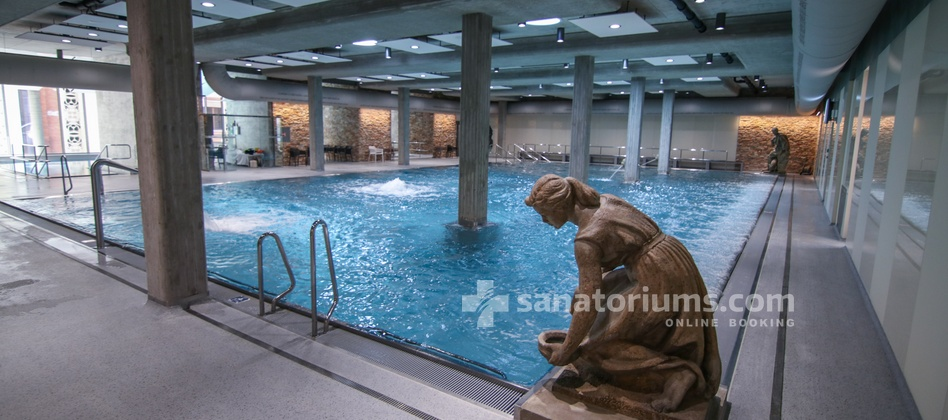 Spa Hotel Beethoven - thermal pool with hydromassage jets