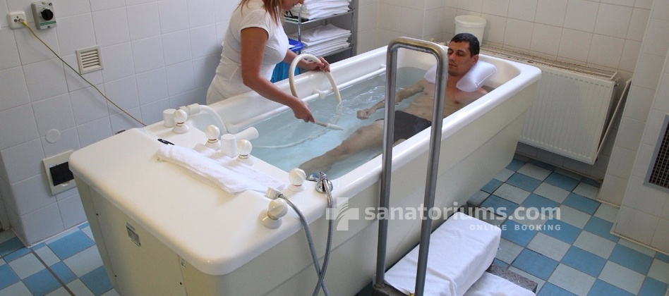 Spa Hotel Cisarske Lazne - underwater massage