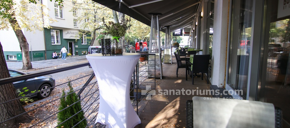 Spa Hotel Felicitas - summer terrace