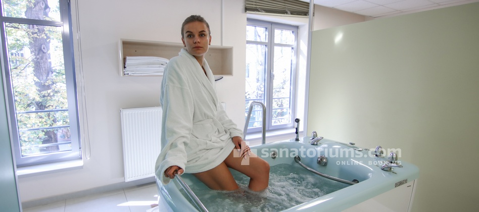 Spa Hotel Felicitas - whirlpool foot bath