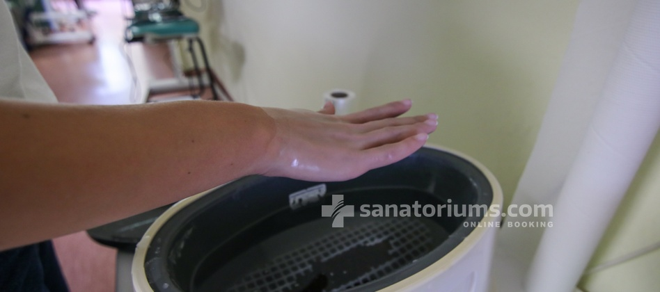 Spa Hotel Felicitas - paraffin hands wrap
