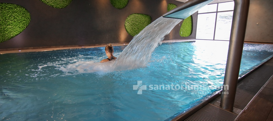 Spa Hotel Felicitas - 6x13 meters pool with hydromassage jets and countercurrent