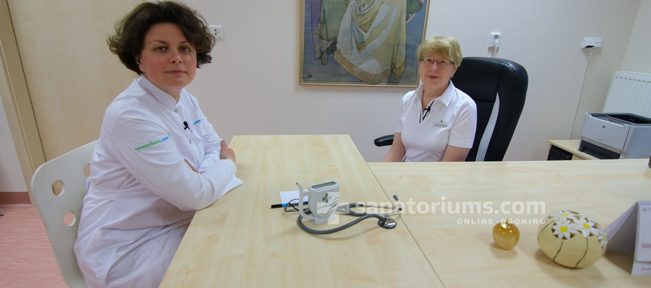 Spa Hotel Felicitas - interview with doctor Libushe Bukatova