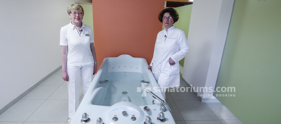Spa Hotel Felicitas - sanatoriums.com balneologist discusses the specifics of water procedures