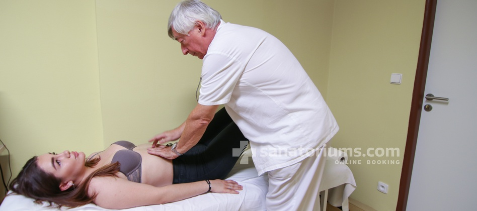 Spa Hotel Libensky - appointment and examination by the doctor