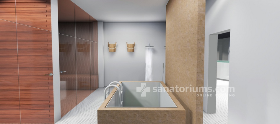 Spa Hotel Libensky - reconstruction of the spa center of Podebrady is planned